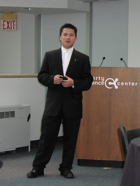 Bao Nguyen Presents at Liberty Science Center
