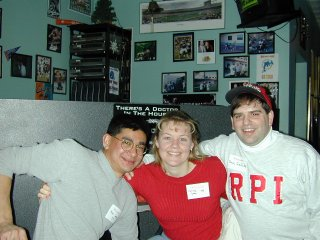 Mike Lobo, Denise Combs, and Dave Aiello