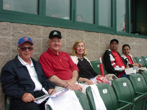 RCNJ Members at Trenton Thunder Game